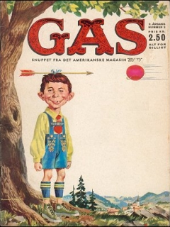 Go to MAD Magazine #3 1962 • Denmark • 1st Edition - Williams