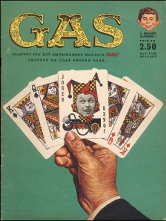 Go to MAD Magazine #1 1963 • Denmark • 1st Edition - Williams