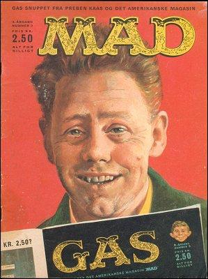 MAD Magazine #11 • Denmark • 1st Edition - Williams