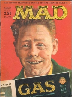 Go to MAD Magazine #2 1963 • Denmark • 1st Edition - Williams