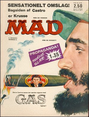 MAD Magazine #3 • Denmark • 1st Edition - Williams