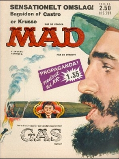 Go to MAD Magazine #3 1963 • Denmark • 1st Edition - Williams