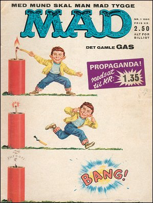MAD Magazine #13 • Denmark • 1st Edition - Williams