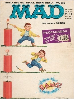 Go to MAD Magazine #1 1964 • Denmark • 1st Edition - Williams