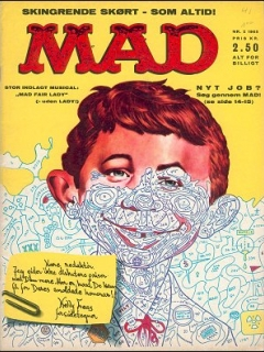 Go to MAD Magazine #2 1964 • Denmark • 1st Edition - Williams