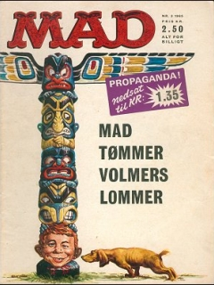 Go to MAD Magazine #3 1964 • Denmark • 1st Edition - Williams