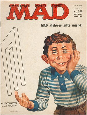 MAD Magazine #4 • Denmark • 1st Edition - Williams