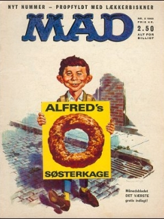 Go to MAD Magazine #5 1964 • Denmark • 1st Edition - Williams