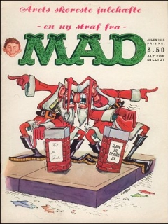 Go to MAD Magazine #6 1964 • Denmark • 1st Edition - Williams