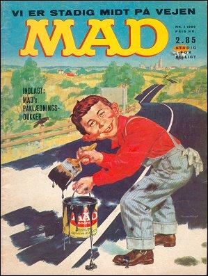 MAD Magazine #19 • Denmark • 1st Edition - Williams