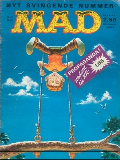 Go to MAD Magazine #2 1965 • Denmark • 1st Edition - Williams
