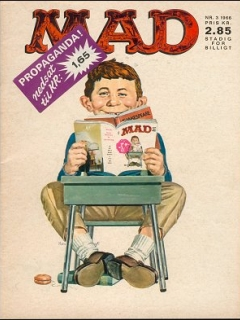 Go to MAD Magazine #3 1965 • Denmark • 1st Edition - Williams