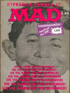 Go to MAD Magazine #22 • Denmark • 1st Edition - Williams