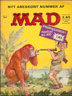 Go to MAD Magazine #23 • Denmark • 1st Edition - Williams