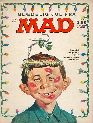 MAD Magazine #6 • Denmark • 1st Edition - Williams