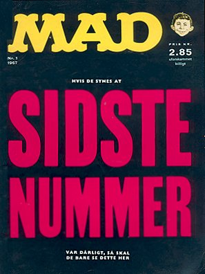MAD Magazine #1 • Denmark • 1st Edition - Williams