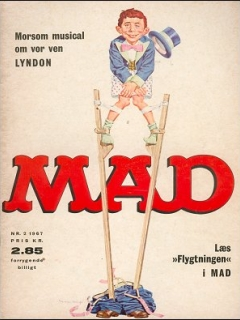Go to MAD Magazine #2 1966 • Denmark • 1st Edition - Williams