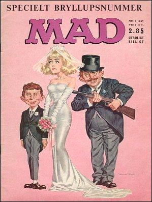 MAD Magazine #3 • Denmark • 1st Edition - Williams