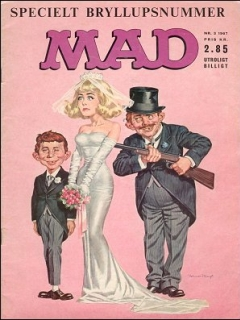 Go to MAD Magazine #3 1966 • Denmark • 1st Edition - Williams