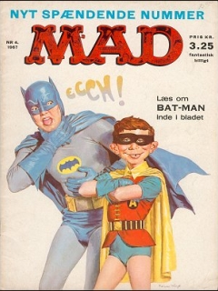 Go to MAD Magazine #4 1966 • Denmark • 1st Edition - Williams
