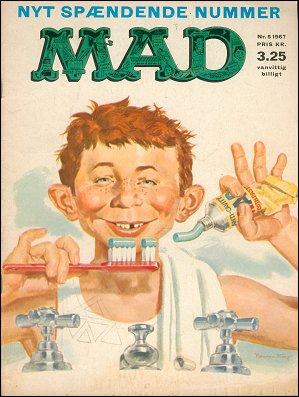 MAD Magazine #5 • Denmark • 1st Edition - Williams