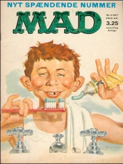 Go to MAD Magazine #5 1966 • Denmark • 1st Edition - Williams