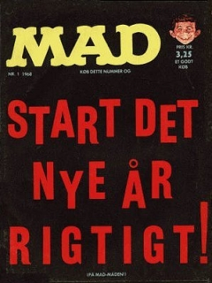 Go to MAD Magazine #1 1967 • Denmark • 1st Edition - Williams