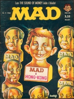 Go to MAD Magazine #32 • Denmark • 1st Edition - Williams