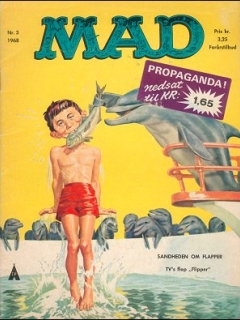 Go to MAD Magazine #3 1967 • Denmark • 1st Edition - Williams