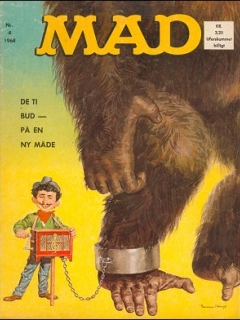 Go to MAD Magazine #4 1967 • Denmark • 1st Edition - Williams