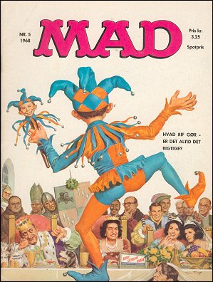 MAD Magazine #35 • Denmark • 1st Edition - Williams