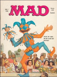Go to MAD Magazine #5 1967 • Denmark • 1st Edition - Williams