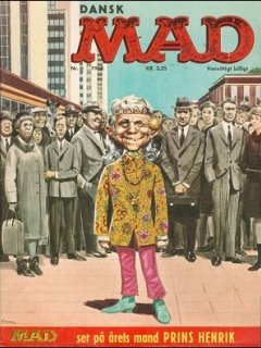 Go to MAD Magazine #6 1967 • Denmark • 1st Edition - Williams