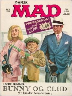 Go to MAD Magazine #7 1967 • Denmark • 1st Edition - Williams