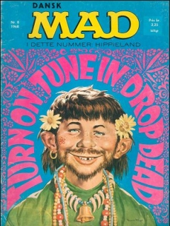 Go to MAD Magazine #8 1967 • Denmark • 1st Edition - Williams