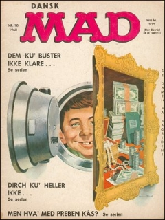 Go to MAD Magazine #10 1967 • Denmark • 1st Edition - Williams