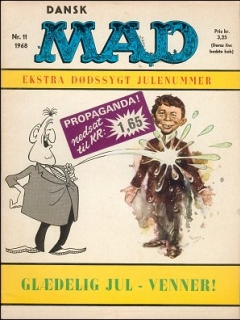 Go to MAD Magazine #11 1967 • Denmark • 1st Edition - Williams