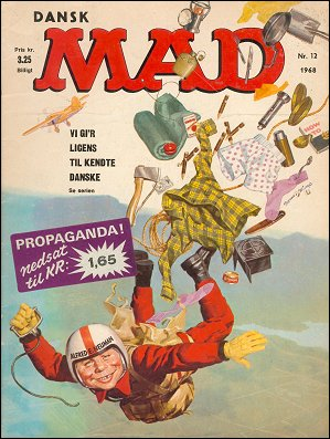 MAD Magazine #42 • Denmark • 1st Edition - Williams