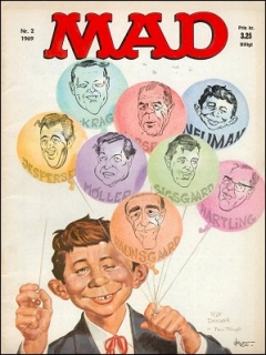 Go to MAD Magazine #2 1968 • Denmark • 1st Edition - Williams
