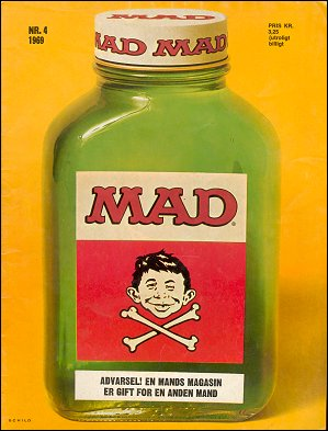 MAD Magazine #46 • Denmark • 1st Edition - Williams