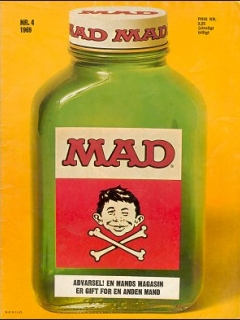 Go to MAD Magazine #4 1968 • Denmark • 1st Edition - Williams