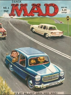 Go to MAD Magazine #5 1968 • Denmark • 1st Edition - Williams