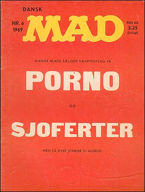 MAD Magazine #6 • Denmark • 1st Edition - Williams
