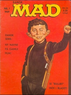 Go to MAD Magazine #7 1968 • Denmark • 1st Edition - Williams