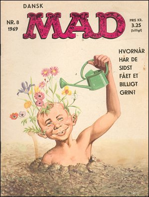 MAD Magazine #8 • Denmark • 1st Edition - Williams