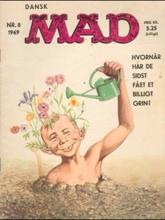 Go to MAD Magazine #8 1968 • Denmark • 1st Edition - Williams