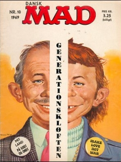 Go to MAD Magazine #10 1968 • Denmark • 1st Edition - Williams