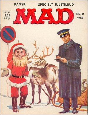 MAD Magazine #53 • Denmark • 1st Edition - Williams