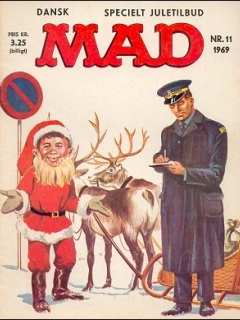 Go to MAD Magazine #11 1968 • Denmark • 1st Edition - Williams