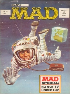 Go to MAD Magazine #54 • Denmark • 1st Edition - Williams